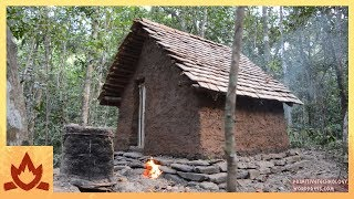 Primitive Technology: Tiled Roof Hut | Kholo.pk