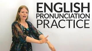 English Pronunciation Practice: CONSONANT CLUSTERS