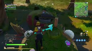 THE DURR BURGER AND TOMATO TOWN HEAD LOCATION IN FORTNITE CHAPTER 2