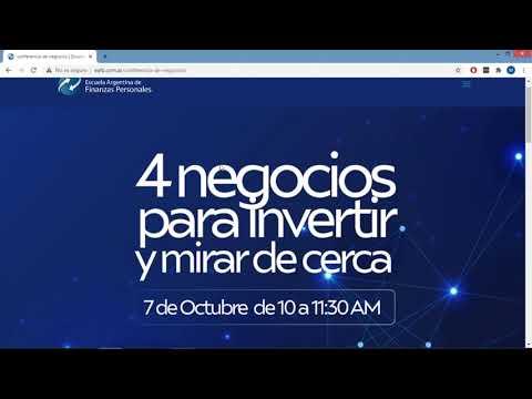 , title : 'Conferencia  4 negocios para invertir y mirar de cerca. 07-10-2020'