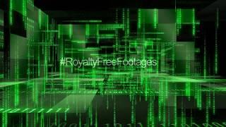 Hi-tech background video | matrix technology motion graphics background | blockchain stock footage