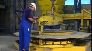 Produktion von Beton- und Stahlbetonrohren
