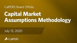 Capital Market Assumptions Methodology | July 13, 2020