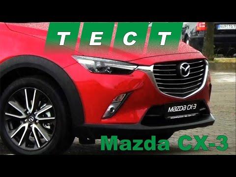 Mazda  Cx3 Паркетник класса J - тест-драйв 3
