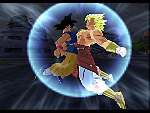 Broku (Fusion Goku y Broly)   DBZ Budokai Tenkaichi 3 (MOD