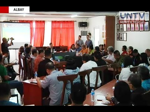 [UNTV]  4 towns in Albay ordered to prepare ahead of possible lahar flow during the rainy season