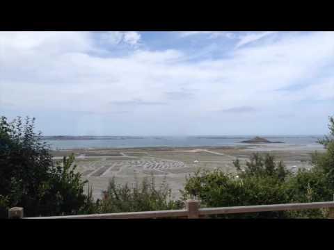 Marée montante et descendante - vue Cap de Bréhat