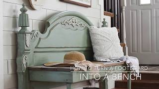 How To Turn A Footboard Into A Bench