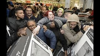 "BREAKING ""Madness In Malls"" Black Friday Turns Ugly"