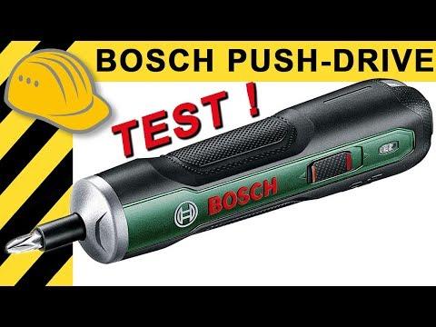 Besser als der IXO? Bosch Push Drive Akkuschrauber 3,6V TEST & Vergleich!