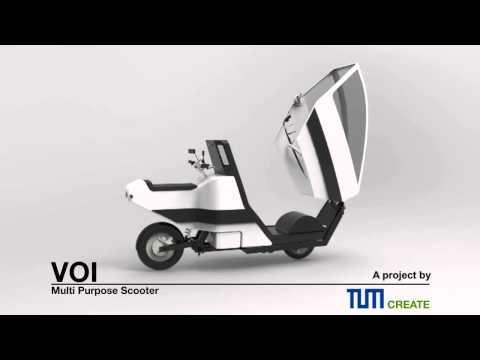TUM-Create VOI - Multi Purpose Electric Scooter