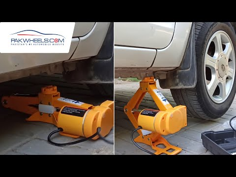 Electric Jack With Tool Kit Sos Kit For 2 Ton Hydraulic Jack | PakWheels