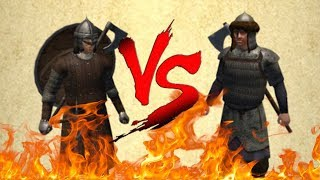 Nord Huscarl VS Vaegir Guard