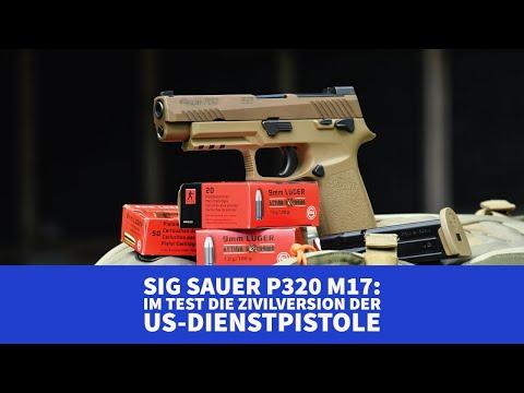 sig-sauer: Test und Video: SIG Sauer P320 M17 in 9x19 mm − was leistet die Zivilversion der US-Army-Dienstpistole?
