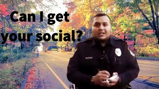 Military Cop Asks Photographer for Driver's License, Social Security Number