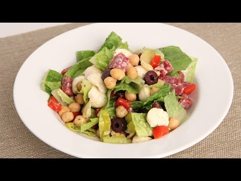 Antipasto Chopped Salad Recipe – Laura Vitale – Laura in the Kitchen Episode 866