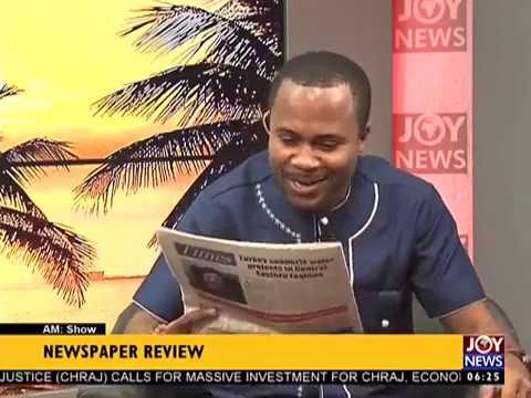 AM Newspaper Headlines on Joy News(24-3-17)