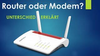 Ratgeber: Unterschied zwischen Router und Modem bei DSL und Kabelanschlüssen (Cable) erklärt!