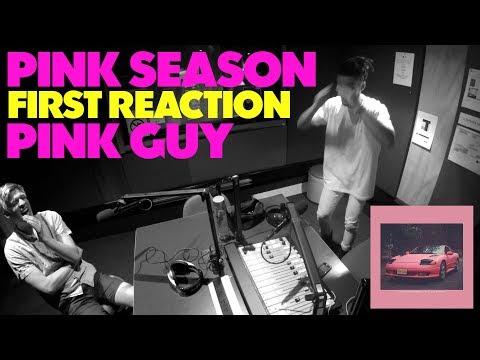 PINK GUY - PINK SEASON FIRST REACTION/REVIEW (JUNGLE BEATS RADIO)