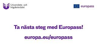Skapa ett europeiskt cv