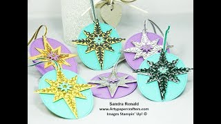 Gorgeous Handmade Christmas Gift Tags - Artypapercrafters.com