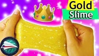 DIY ZLATÝ SLIZ | jak si sami uděláte krásný třpytivý sliz | SLIME DIY pro děti| jednoduše a rychle