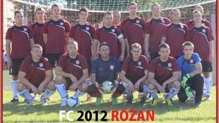 preview picture of video 'FC 2012 Różan vs LKS Zatory 2007 - skrót meczu'