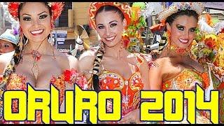 preview picture of video 'Carnaval de Oruro 2014, San Simon Morenada Central Ferrari Diablada Urus Tobas Cocanis'