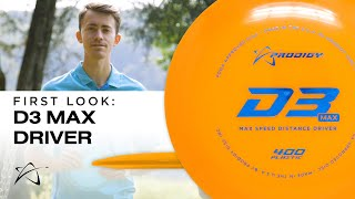 Prodigy Disc D3 Max First Look
