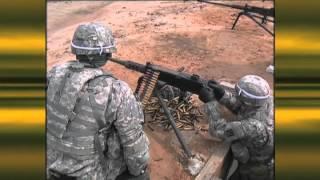 Practice on a M2 .50 Cal machine gun