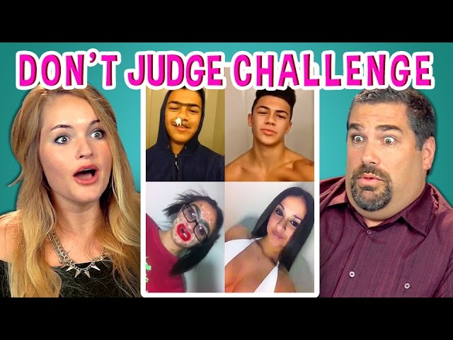 Adults React To Dont Judge Challenge Dontjudgechallenge