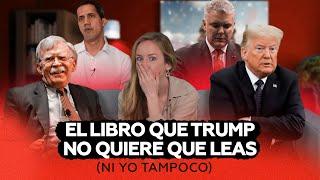 AHI LES VA: TRUMP Y BOLTON EN SECRETOS DE ESTADO