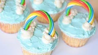 КАПКЕЙКИ ☆ Радужный CandyBar ☆ Rainbow cupcakes