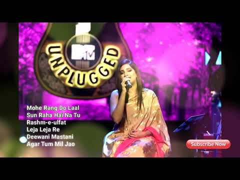 Best of Shreya Ghoshal Unplugged Songs  Non Stop  Jukebox