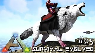 ARK: SURVIVAL EVOLVED   ALPHA DIREWOLF U0026 DodoRexy TAMING !!! E05 (MODDED