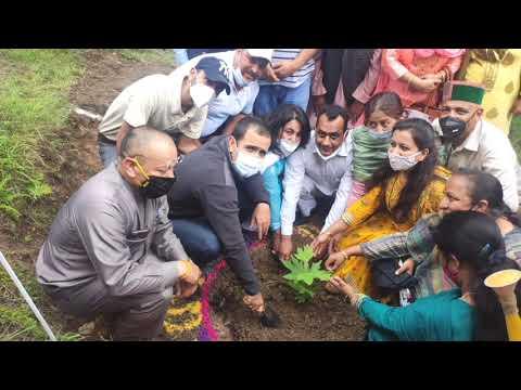 भूमि कटाव की बजह से पहाड़ धसते जा रहें-विधायक विक्रमादित्य सिंह