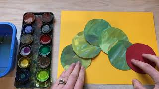 Art Lessons Online: The Very Hungry Caterpillar (Kindergarten)