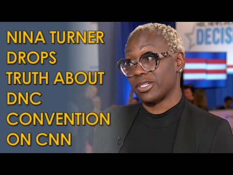 Nina Turner on CNN ROASTS DNC for lack of progressives at Convention
