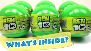 BEN 10 Surprise Eggs Opening – Ben 10 Alien Heroes Toys for Kids