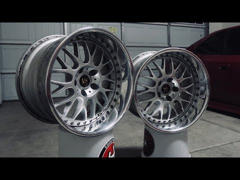 Building the widest wheels for my Honda Prelude!