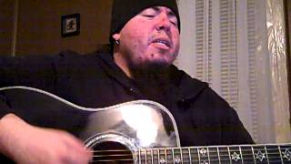 "Mike Risner acoustic cover of ""Satisfied"" by Aranda"