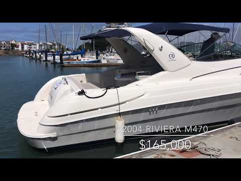 Riviera M470 Excalibur (Wellcraft) video