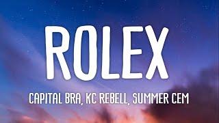Capital Bra, KC Rebell & Summer Cem   Rolex (Official HQ Lyrics) (Text)