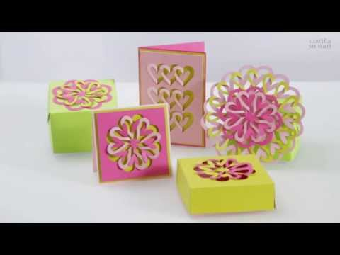 How To Use The Martha Stewart Crafts Cut And Fold Punch To Decorate A Gift Box Mp3