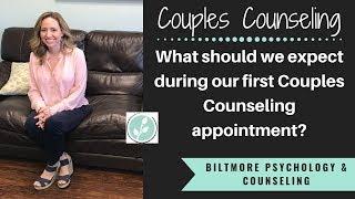 What Should I Expect At My First Couples Counseling Session