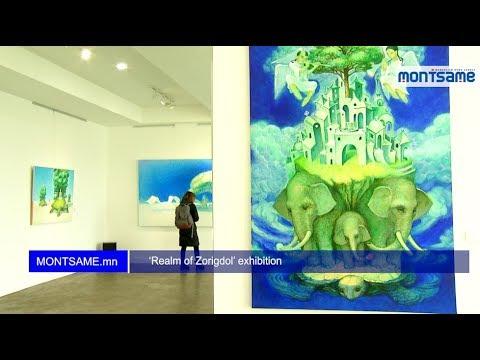 'Realm of Zorigdol' exhibition