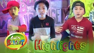 Goin' Bulilit Kids perform rap songs in Bow wow wow | Goin' Bulilit