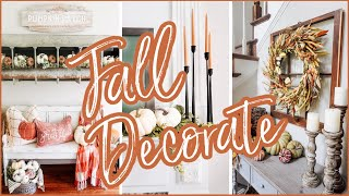 FALL DECORATE WITH ME 2020 | Farmhouse Decorating Ideas for Fall 2020 (Part I)