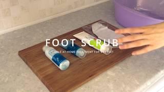 3 Steps To Soft Feet - Foot Soak, Foot Scrub And Cracked Heel Cream
