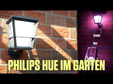 Hue Outdoor Lampen - Philips Hue Econic Montage & erster Eindruck